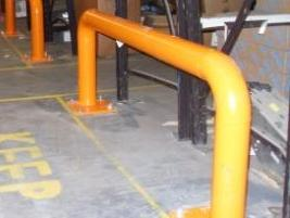 Tubular Double End of Rack Barrier