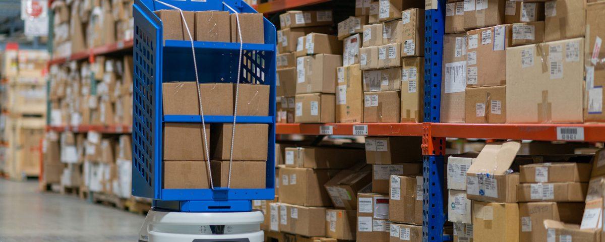 warehouse delivery robotics