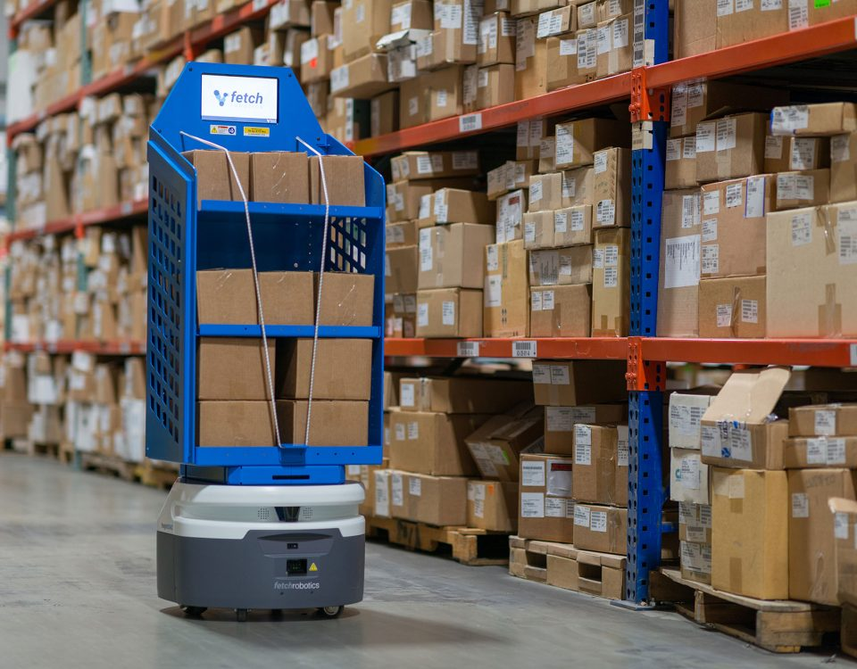 warehouse delivery robotics
